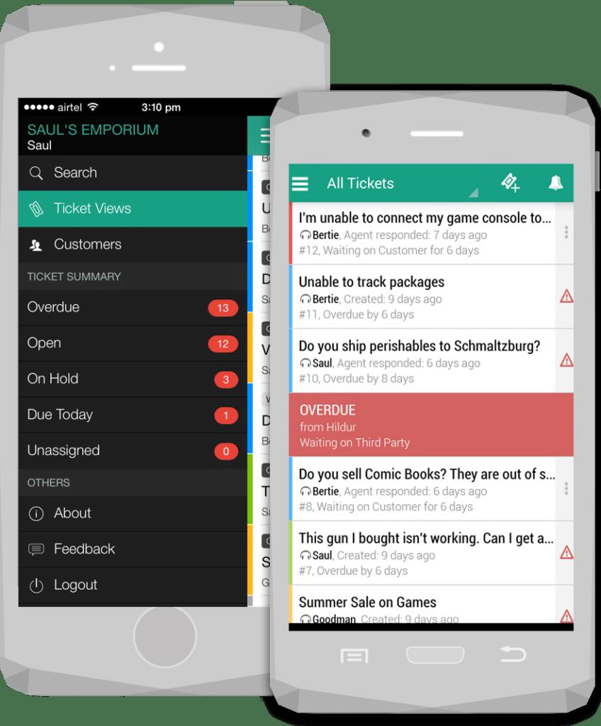 Freshdesk-email-mobile